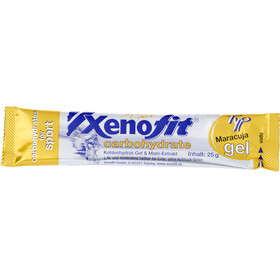 Xenofit Carbohydrate Gel Box Redberry/Citrus-Mix/Maracuja 30 x 25g